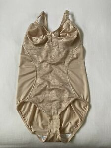 Bali Shapewear Firm Control Bodysuit Briefer Double Support All in One 8380 38C