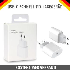 20W Netzteil für Apple iPhone 12 12 Pro Max 11 Ladegerät USB C Power Adapter Neu