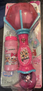 LOL Surprise Lights & Sound Bubble Wand Super Miracle Bubbles Diva  NEW