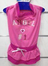 ROBE JUPE JUPETTE ROSE Angel Taille Dos L 30cm VETEMENT pour CHIEN