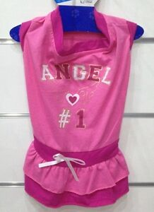 Dress Skirt Skirted Pink Angel Back Size L 30cm Clothing For CHIEN