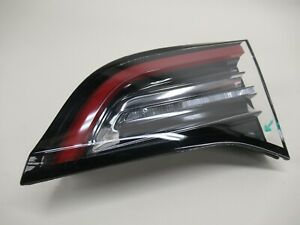 Tesla Model 3 Tail Light Right Passenger Trunk Mounted Chipped 1077402-00-E