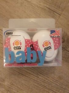 Baby Infant girls Hearing Protection Ear Muffs quality made in USA  ems for kids