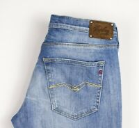 Replay Femme Radell Extensible Jambe Droite Jean Taille W32 L34 ARZ1480