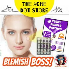 24 Pesky Pimple Patches • Acne Dots • Acne Master Patch Mighty CosRx Rael Peace