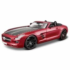 Voitures, camions et fourgons miniatures rouge Maisto Roadster