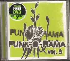 PUNK O RAMA vol 9 CD DVD Bad Religion PENNYWISE Dropkick Murphys RANCID Refused