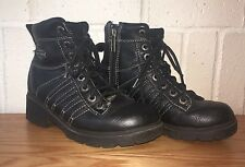 Harley Davidson Cruise Control Boots Size 6 1/2 Leather Hard Toe Boots