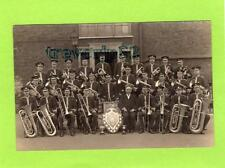 Brass Band Military ? ...ar & Bromley  RP pc  Ref C223
