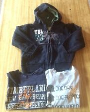 Boys Three Piece Timberland Lot!! Hoodie & 2 Short Sleeves T-shirts Size 3t
