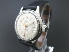 RARE!! ORIS Automatic Watch 17 JEWELS 7464  Pointer Date Big Crown [670]
