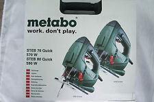 Metabo STEB 70 Quick Pendelhubstichsäge 570 Watt Stichsäge im Koffer