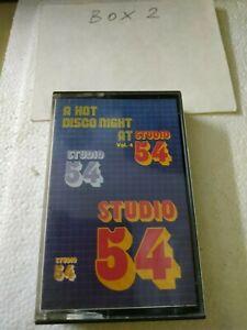 MC A hot disco night at Studio 54 vol 4  k7 BARRABAS MUSICASSETTA COME NUOVA