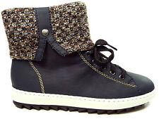 Rieker Damenschuhe Stiefelette Boots in Blau Y8443-14