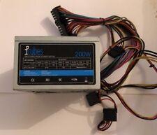 ICubes JSP-200P08N 200 W Mini/Micro ATX Fuente de alimentación 125 X 100 X 65 mm