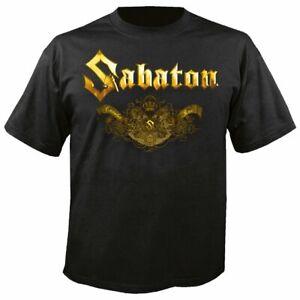 SABATON - Carolus Rex Logo Platin T-Shirt