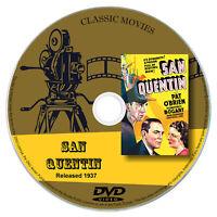 San Quentin 1937 Classic DVD Film - Crime, Drama, Film-Noir