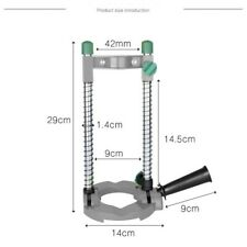 1pc Adjustable Mobile Drill Guide Holder Stand Saw Attachment for Electric Drill