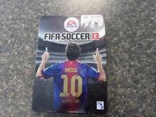 FIFA Soccer 13 - Limited Edition (Microsoft Xbox 360, 2012) - Messi Steelbook