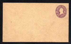 U.S. #U65 Mint Entire Scott CV $70.00