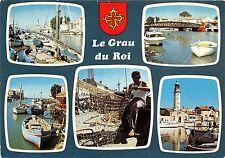 BR30373 Le grau du Roi Port de peche sur le ciadourle France
