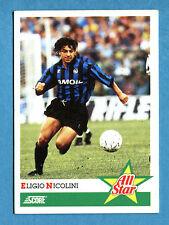 Cards-Figurina/Stickers SCORE 92-n. 405 - NICOLINI - ALL STAR
