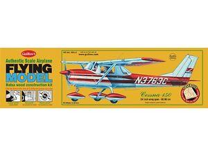 """GUILLOWS  24"""" Wingspan Cessna 150 Laser Cut Kit GUI309"""