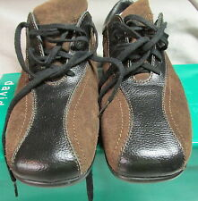 David Tate Size 9SS Brown Suede Leather Oxford EUC