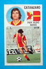 CALCIATORI PANINI 1976-77-Figurina-Sticker n. 33 - ALDO NEMO - CATANZARO - Rec