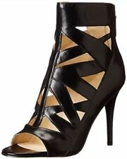 Leather Stiletto Strappy Heels Women's Nine West