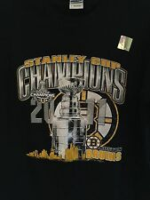 2011 Boston Bruins Stanley Cup Champions T-Shirt, NWOT,  Men's Size - L