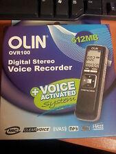 Olin OVR100 512mb  Digital Voice Recorder ,USB, Mp3 , Radio  ( Get one Free )