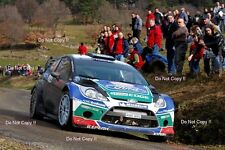 Petter Solberg Ford Fiesta RS WRC Monte Carlo Rally 2012 Photograph