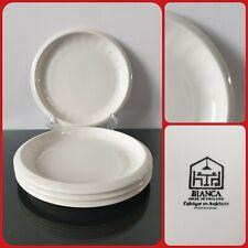 Set of 4 Habitat Bianca Round Side Salad Tea Plates