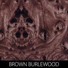 BROWN BURL WOOD HYDROGRAPHIC WATER TRANSFER FILM DIP STICK™ CAR GUN BOAT CELL