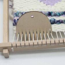 Weaving Tool Wood Woven Tapestry Weaving Wood Loom Comb DIY Braided Tools CoR_YU