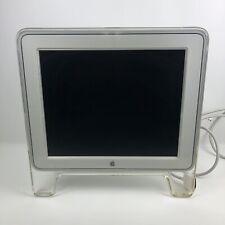 "Apple M7649 Studio Display Monitor 17"" ADC w/2-Port USB Hub Working See Notes"