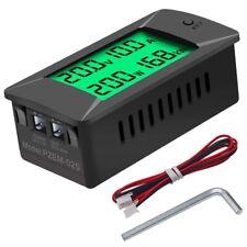 Dc 0 300v 300a Lcd Digital Voltmeter Ammeter Voltage Amp Power Kwh Panel Meter