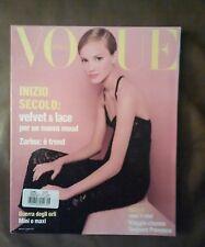 *** VOGUE ITALIA   MAGAZINE September 1993 Steven Meisel cover