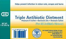 G&W Triple First Aid Antibiotic Ointment 5M UN, 1 ounce