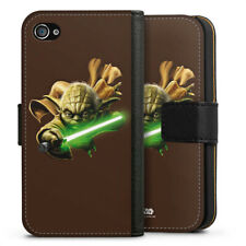 Apple iPhone 4 bolso funda flip case-Yoda