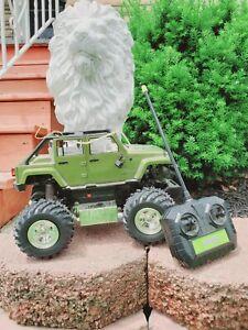 Radioshack 2008 Jeep Wrangler Unlimited Remote Control Car With Remote 60-375