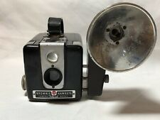 Vintage Kodak Brownie Hawkeye Flash Model camera with flash