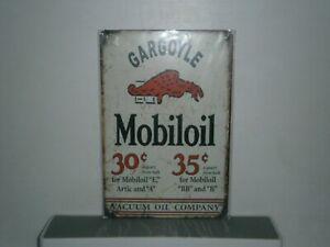 MOMS5 MOBIL OIL  Metal Sign New 30 cm H X 20 cm W