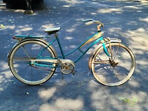 J.C. Higgins Flightliner Bicycle headlight/tailight/springer front 50s-60's