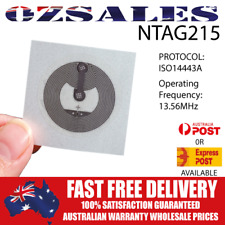 30x NFC TAG NTAG 215 NTAG215 RFID Android Tag Universal Label Sticker TagMo