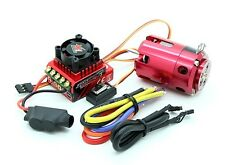 TRACKSTAR 1/10 STOCK CLASS BRUSHLESS ESC 80A & MOTOR COMBO 13.5T 3040Kv ROAR RC