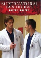 Supernatural Seasons 4-6 Disguises Chase Card D4 Doctor, Doctor?