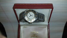 Wristwatch: Cartier Model Century 21 with box.Retail in New: $2100
