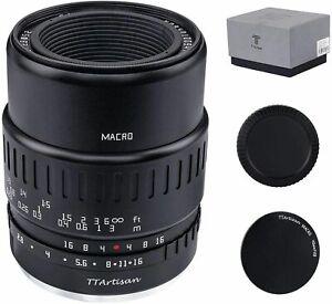 NEW TTartisan 40mm F2.8 APS-C Macro Lens Focus For Sony E/Fuji X/M4/3 Mount